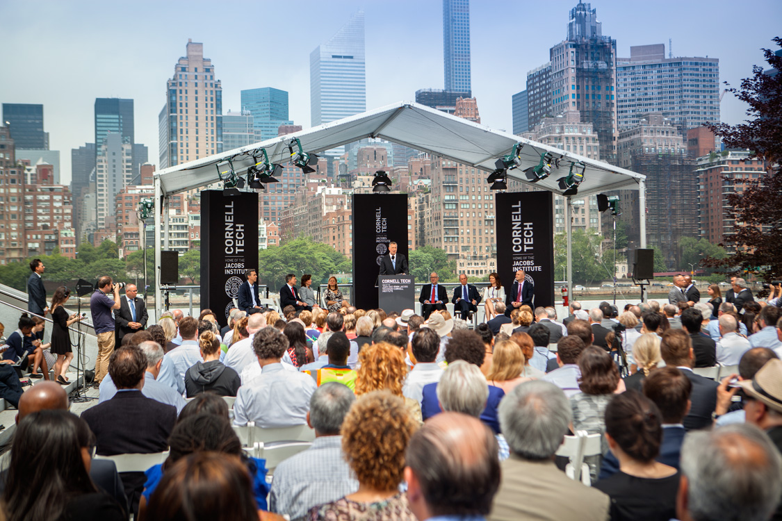 Cornell Tech campus groundbreaking