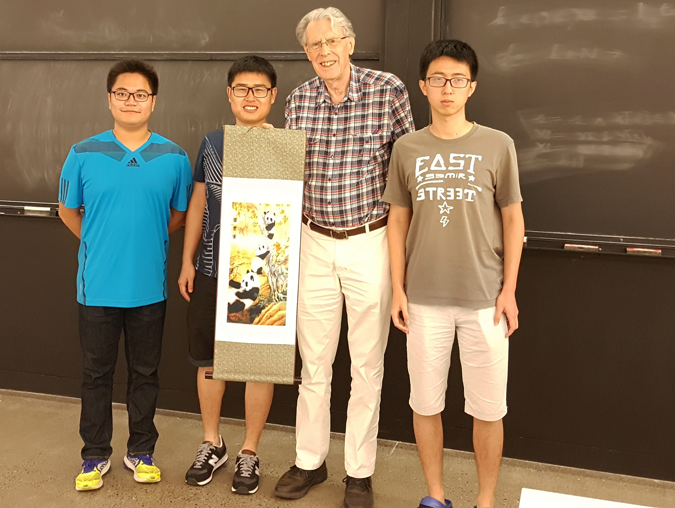 Hopcroft with Chinese students