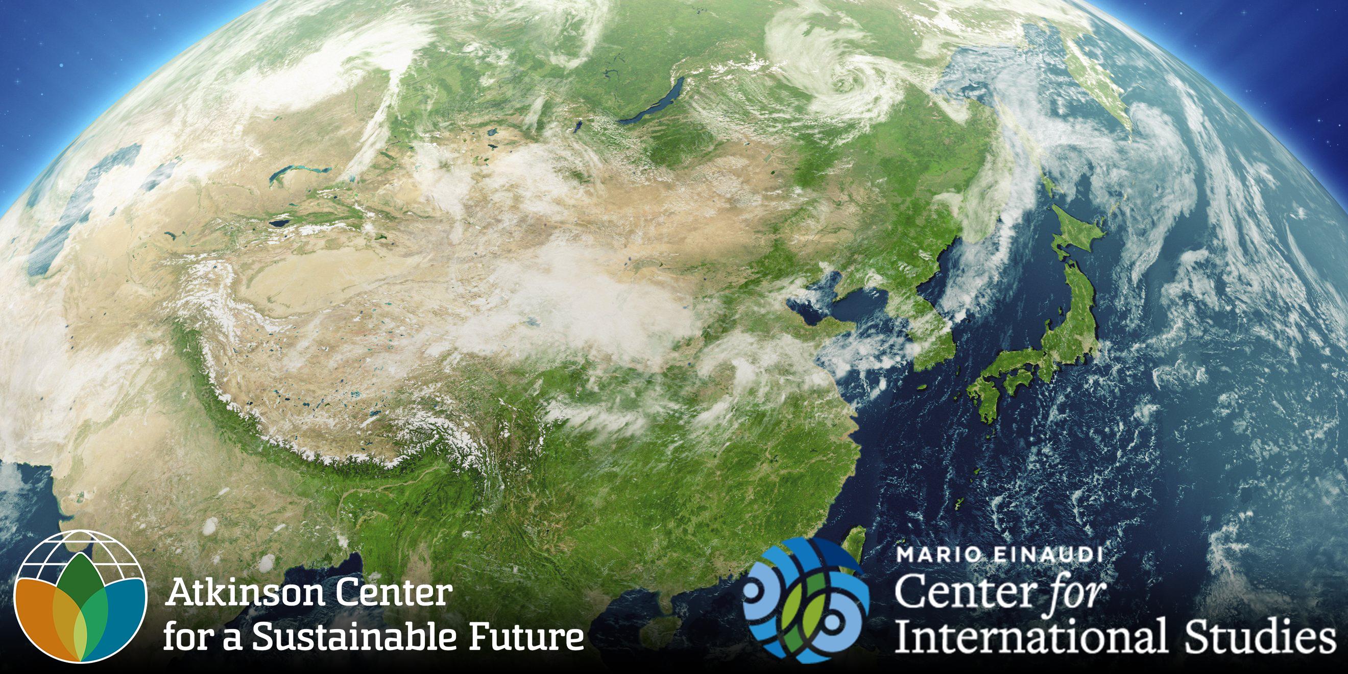 Asia globe with ACSF and ECIS logos