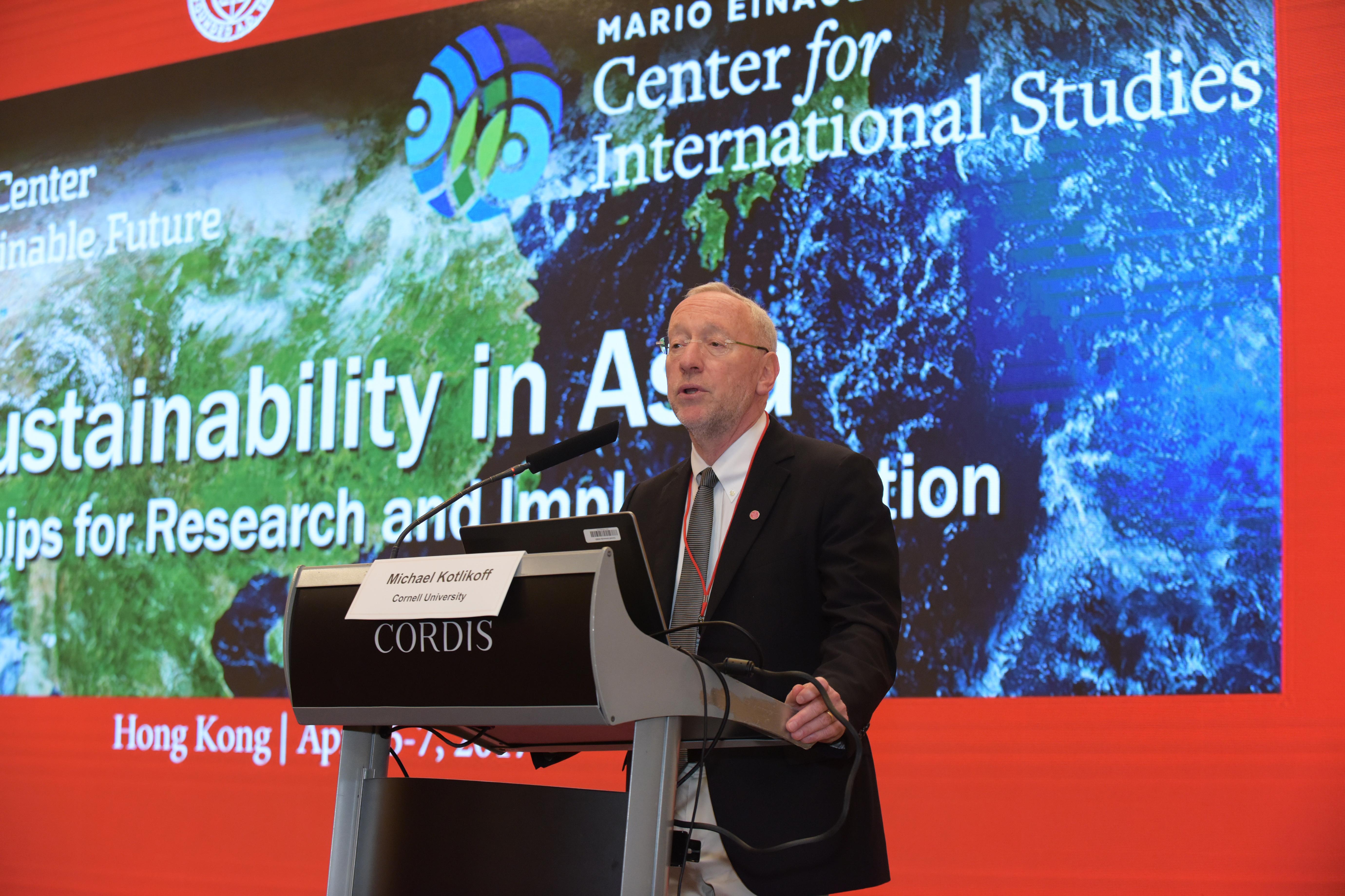 Cornell Provost Michael Kotlikoff