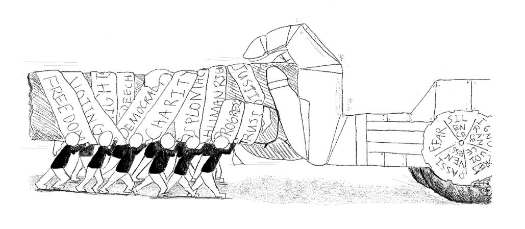 """Power for Progression"" illustration"
