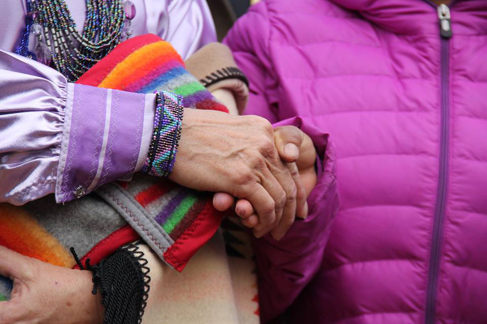 Standing Rock community