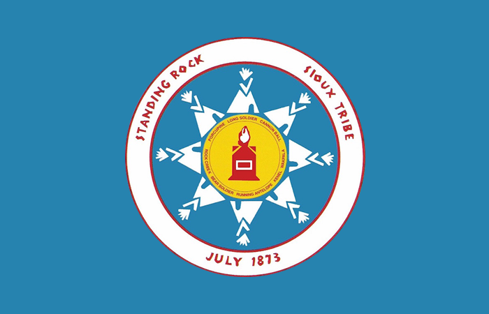 Standing Rock Sioux Nation flag