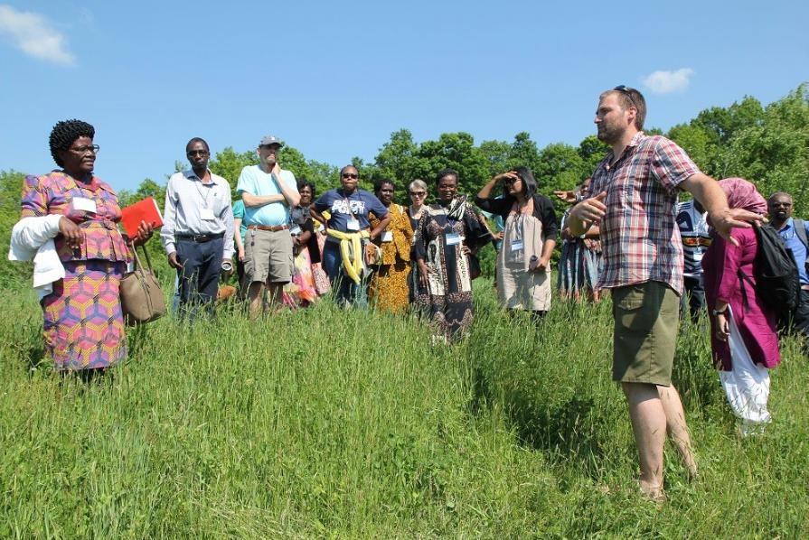 Collaboratory participants visit Wellspring Farm